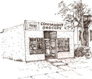 Connaught Study ink